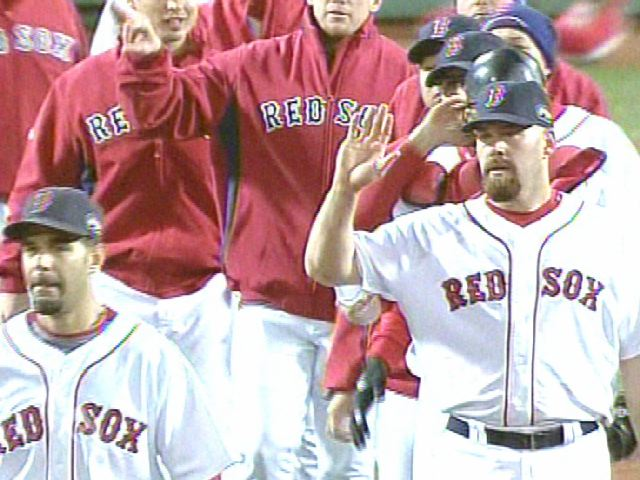 The Red Sox, Victorious in Game 1
