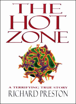 The Hot Zone, by Richard Preston, Cover Art Courtesy of Wikipedia