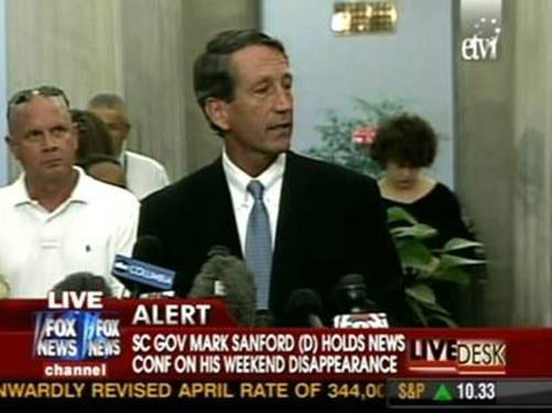 Mark Sanford Now a Democrat?